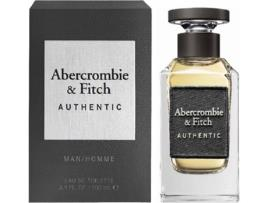 ABERCROMBIE & FITCH - Perfume ABERCROMBIE & FITCH Authentic Man Eau de Toilette (100 ml)
