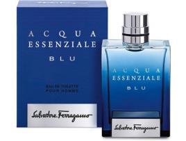 Perfume Homem Acqua Essenziale Blu Salvatore Ferragamo EDT (100 ml) - 100 ml