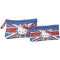HELLO KITTY - Hello Kitty  Estojo 45431  Azul Disponível em tamanho para senhora. Único.Bolsas > Estojo