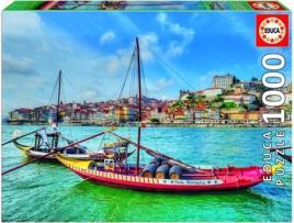 HOUSE USA INC - Puzzle Barcos Rabelos - 1000 Peças - Educa