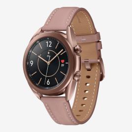 SAMSUNG - Smartwatch Samsung Galaxy Watch 3 41mm - Rosa - Relógio tamanho T.U.