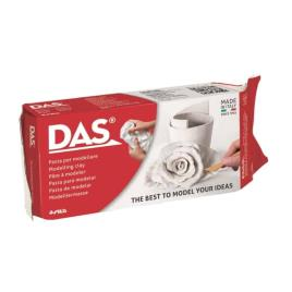 DAS - Pasta p/ Modelar Das 500 Gr Branco