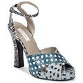 MARC JACOBS - Marc Jacobs  Sandálias Elap  Azul Disponível em tamanho para senhora. 38,37 1/2.Mulher > Calçasdos > Sandálias e rasteirinhas