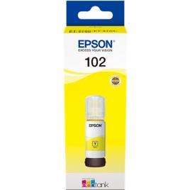 EPSON - Epson Garrafa de Tinta 102, Amarelo, C13T03R440