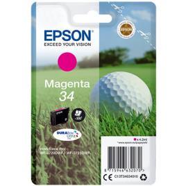 Epson 34 (C13T34634010) tinta magenta original