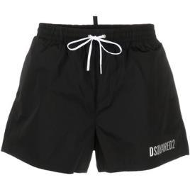 DSQUARED2 SWIMWEAR - Dsquared2 Swimwear  Fatos e shorts de banho D7B643730  Preto Disponível em tamanho para homem. IT 46,IT 48,IT 50,IT 52.Homem > Roupas > Fatos de Banho