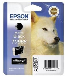 Epson T0968 tinta negro mate original