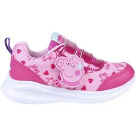 PEPPA PIG - Peppa Pig  Sapatilhas 2300004729  Rosa Disponível em tamanho para rapariga. 23,24,25,26,27,28.Criança > Menina > Sapatos > Tenis