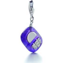 Luxenter  Jóias Colgante Mobil De Plata De Ley 925  Violeta Disponível em tamanho para senhora. Único.Mulher > Acessórios > Bijuteria, Relógios