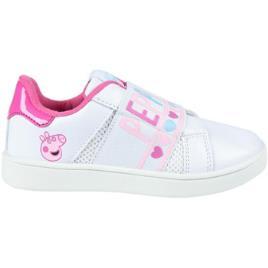PEPPA PIG - Peppa Pig  Sapatilhas 2300004407  Branco Disponível em tamanho para rapariga. 26,27,28,29,31,32,33.Criança > Menina > Sapatos > Tenis