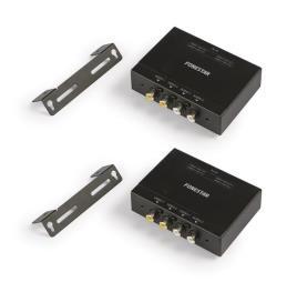 FONESTAR - Extensor 2x Vídeo e 2x Áudio até 670 mts via RJ45 - FONESTAR