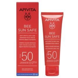 Rosto de Apivita Protetor solar clareador FPS50 50 ml