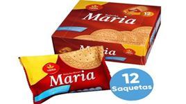 VIEIRA - Bolachas Maria Doses Individuais Cx.12 Saquetasx4un de 25gr