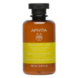 Apivita shampoo diário camomila e mel 250ml