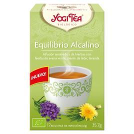 YOGI TEA - EQUILIBRIO ALCALINO infusión 17 x 2,1 gr