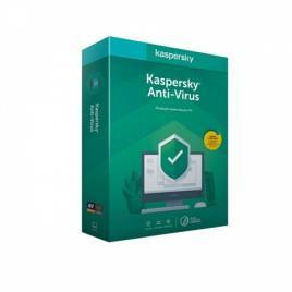 Kaspersky - Software Kaspersky Anti-Virus 2020 3 User 1 Ano BOX
