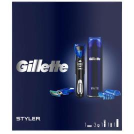 Gillette Pack Navalha Styler + Gel Fusion5 200ml