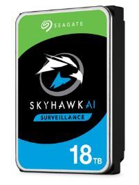 SEAGATE - HDD Skyhawk AI 3.5P 18TB SATA 6GB/s