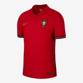 NIKE - Camisola Vapor 1º Equip. 2020 Portugal - Vermelho tamanho L
