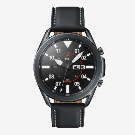 SAMSUNG - Smartwatch Samsung Galaxy Watch 3 45mm - Preto - Relógio tamanho T.U.