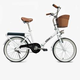 NILOX - Bicicleta Elétrica Nilox J1 - Branco - E-Bike Unissexo tamanho T.U.