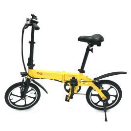 SK8 - Urban Beetle SK10 - Amarelo - Bicicleta Elétrica tamanho T.U.