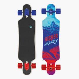 STREET SURFING - Skate Street Surfing Higher Faster - Azul - Skate 39 tamanho T.U.