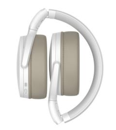 SENNHEISER - SENNHEISER Auscultadores Over-Ear HD 350BT, Bluetooth® 5,0, com Microfone, Branco