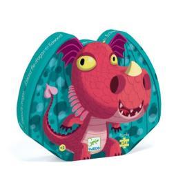 Puzzle Dragão - 24 Peças - Djeco