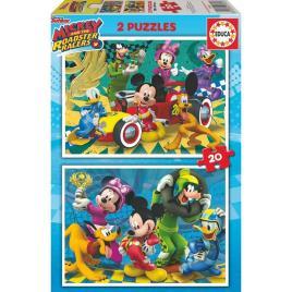 Educa - Puzzle Mickey & The Roadster Racers Educa (20 pcs)